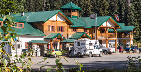 Bell 2 lodge, remote, fuel, food and service up Northern BC.