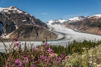 Salmon Glacier, Northern BC Canada. Photo - Steve Rosset