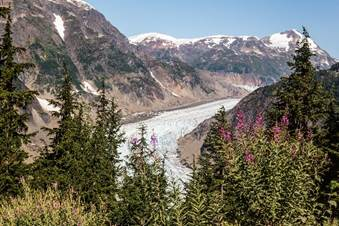 Salmon Glacier, Northern BC Canada Photo - Steve Rosset