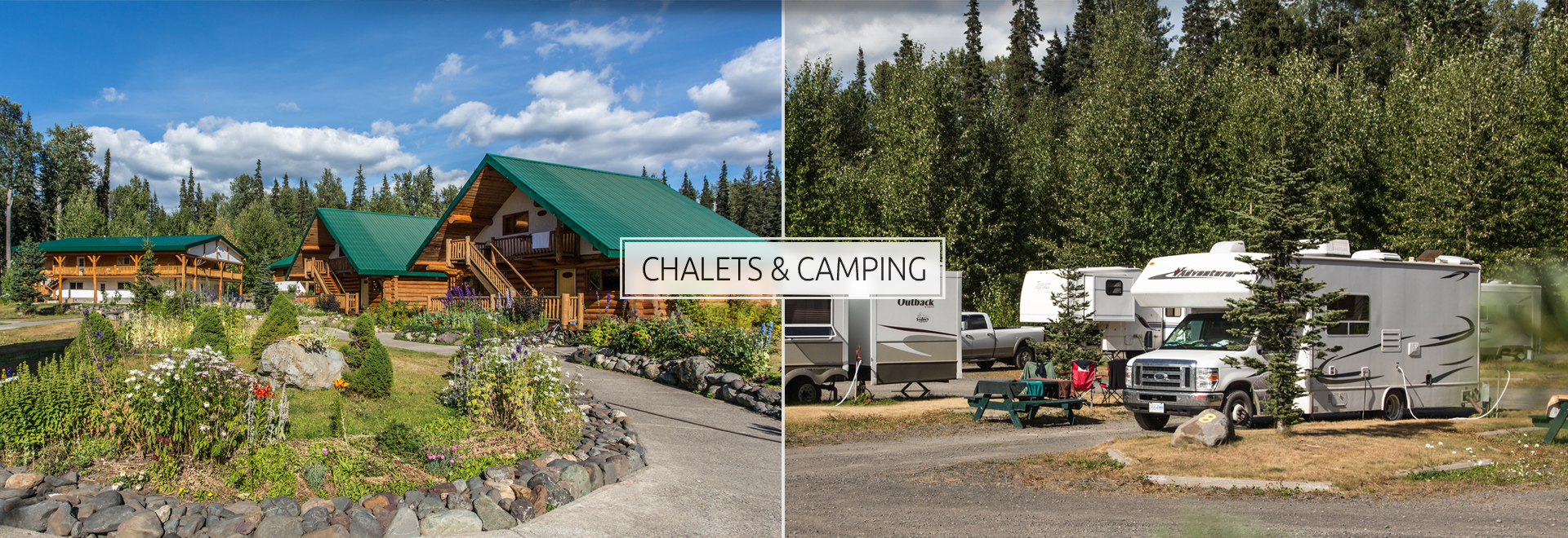 Chalets & Camping Parks at Bell 2 Lodge