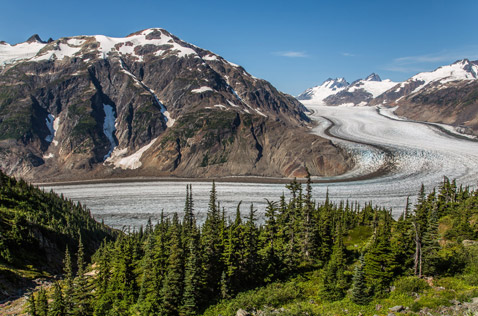 Salmon Glacier, near Stewart and Bell 2. Photo - Steve Rosset