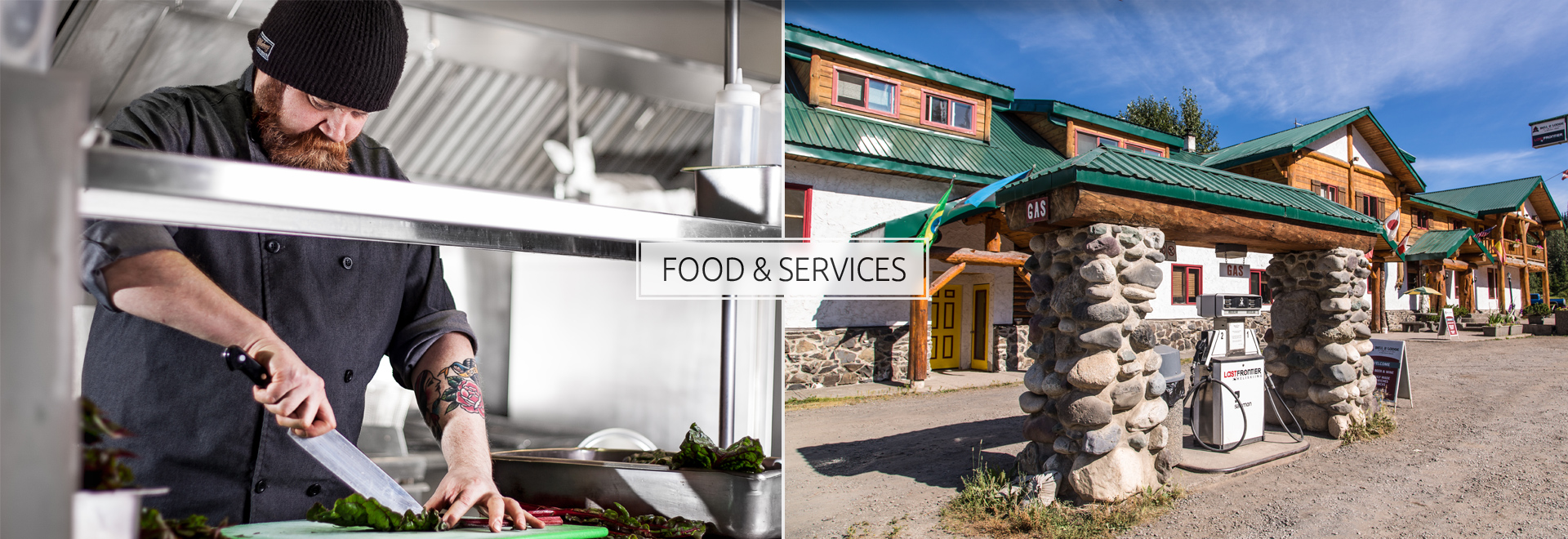 Food & Gas Services at Bell 2 Lodge