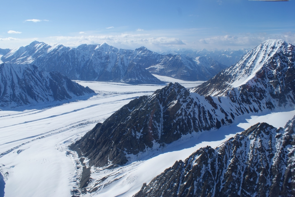 """Kluane is so vast, only by air can you even attempt to grasp the enormity. Go here for more info: www.kluaneglacierairtours.com"" Photo - Liam Harrap"