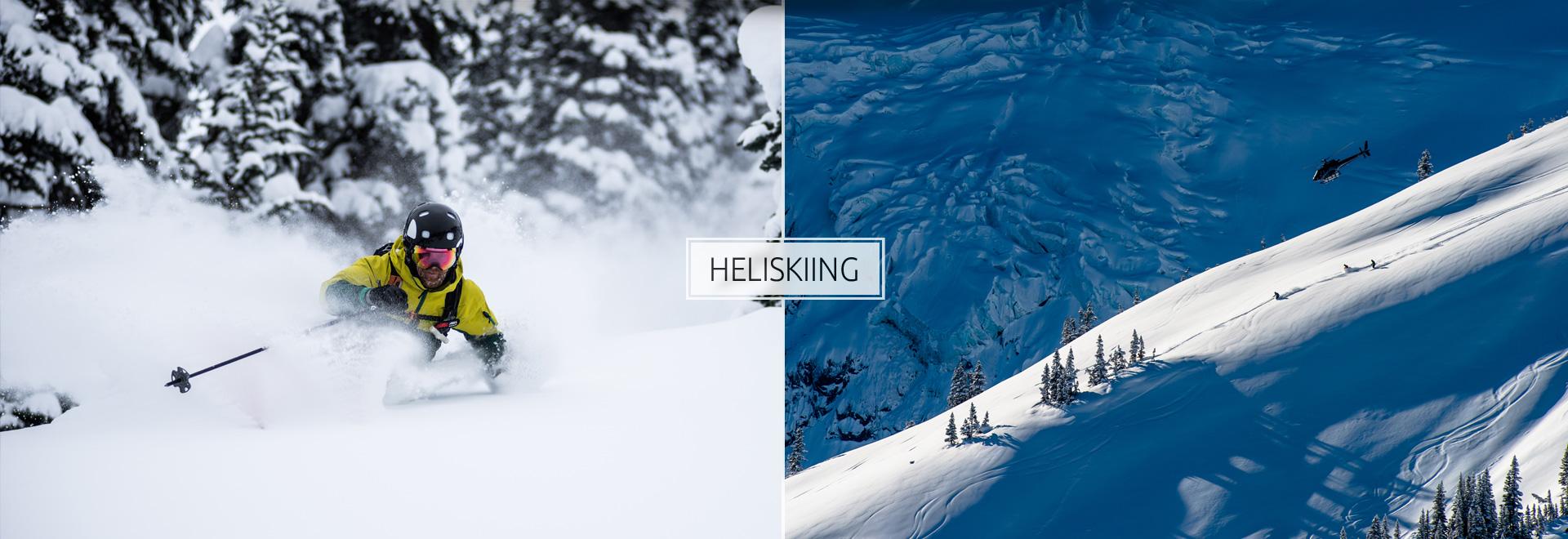 Last Frontier Heliskiing Menu banner